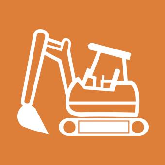 土木掘削機械